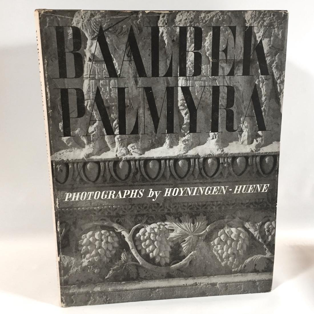 Baalbek Palmyra David M. Robinson First Edition
