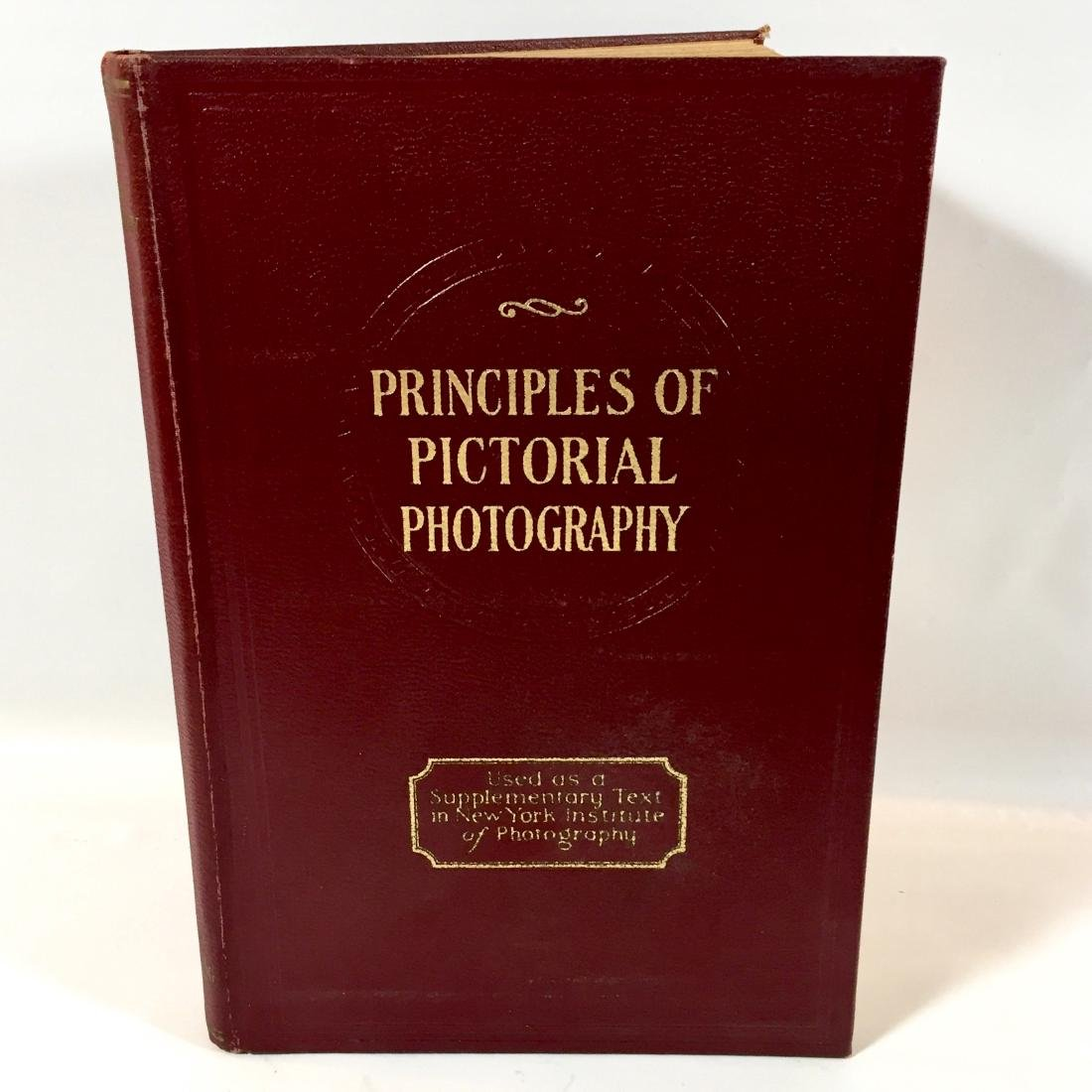 Principles Pictorial Photography Gillies First Edition