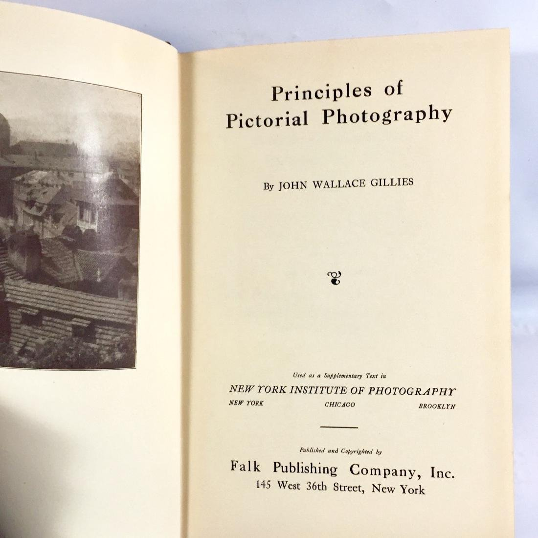 Principles Pictorial Photography Gillies First Edition - 3