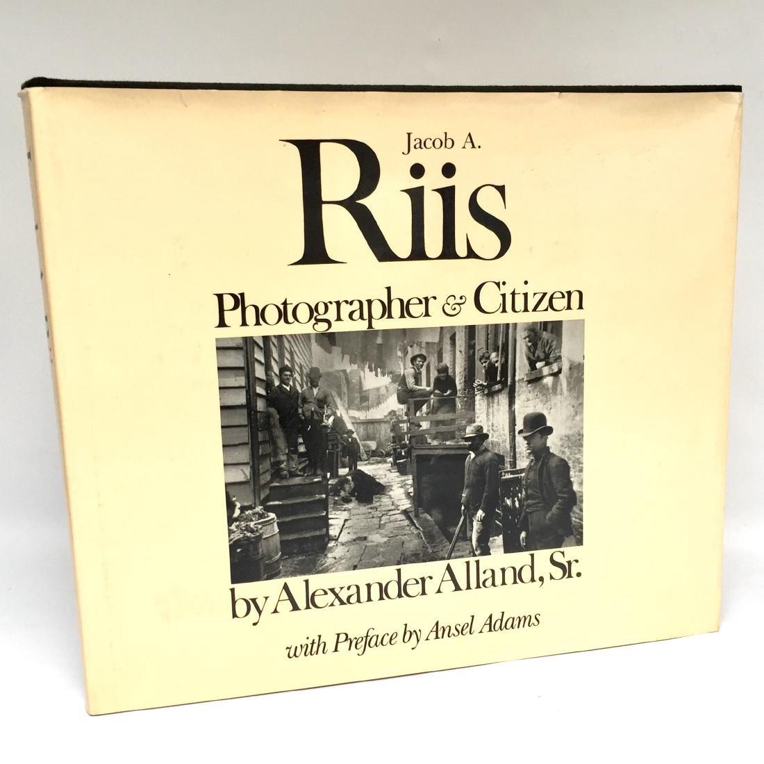 Jacob A. Riis Photographer & Citizen First Edition