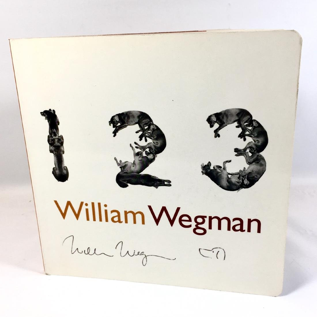 One, Two, Three William Wegman First Edition
