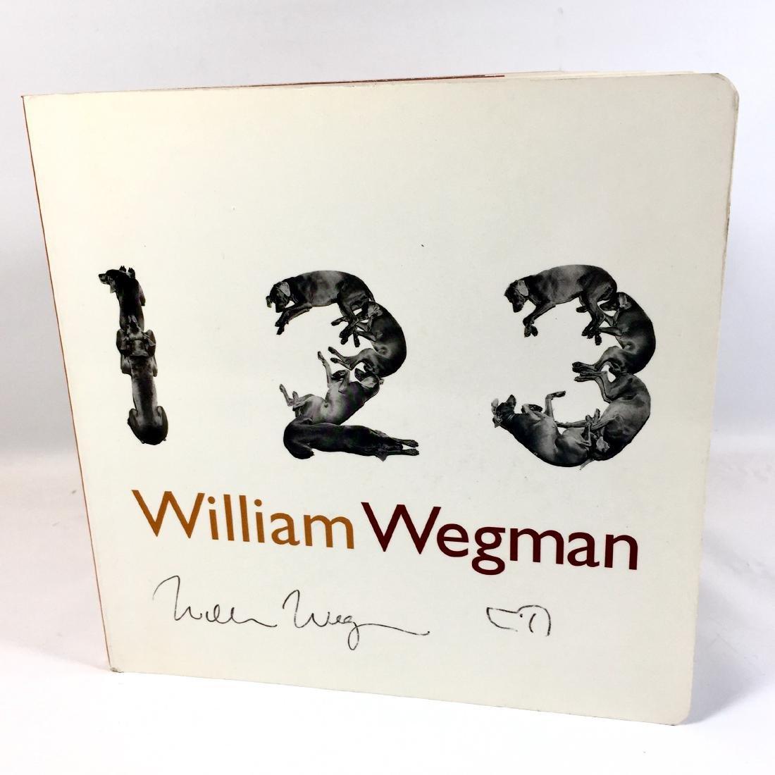 One, Two, Three William Wegman First Edition