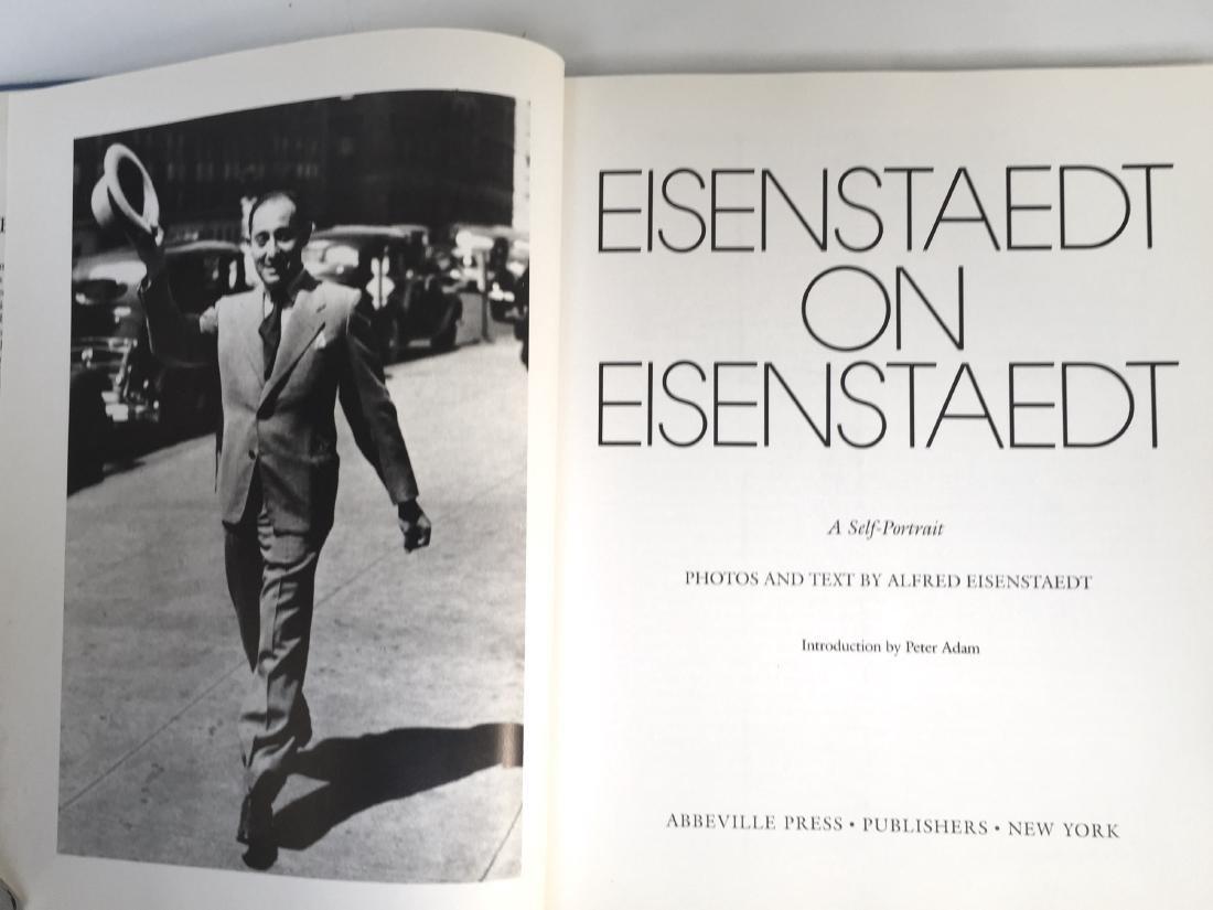 Eisenstaedt on Eisenstaedt Alfred First Edition - 3
