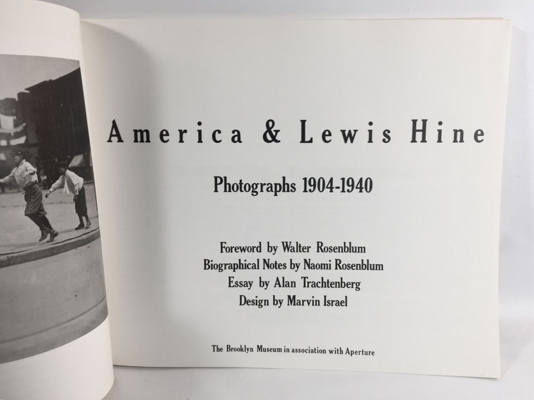 America & Lewis Hine Walter Rosenblum - 2