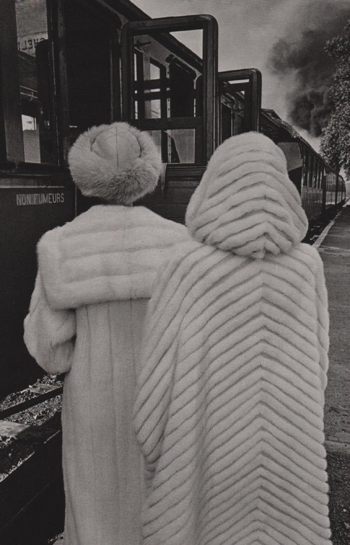 JEANLOUP SIEFF - Modeling Fur 1978