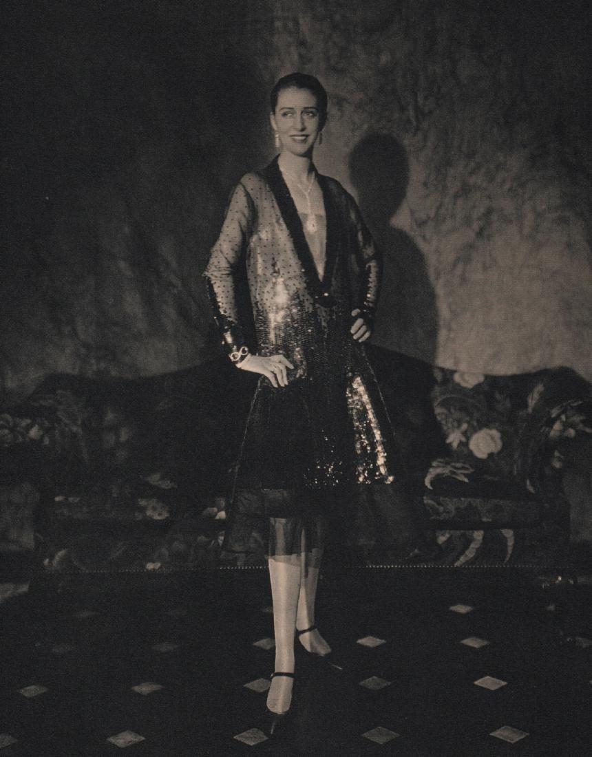 EDWARD STEICHEN - Cheruit Gown, NY 1927