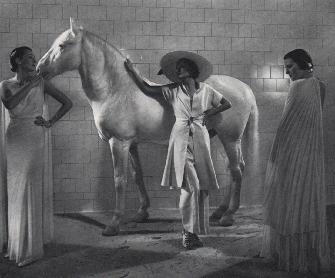 EDWARD STEICHEN - Vogue Fashion: White. 1935