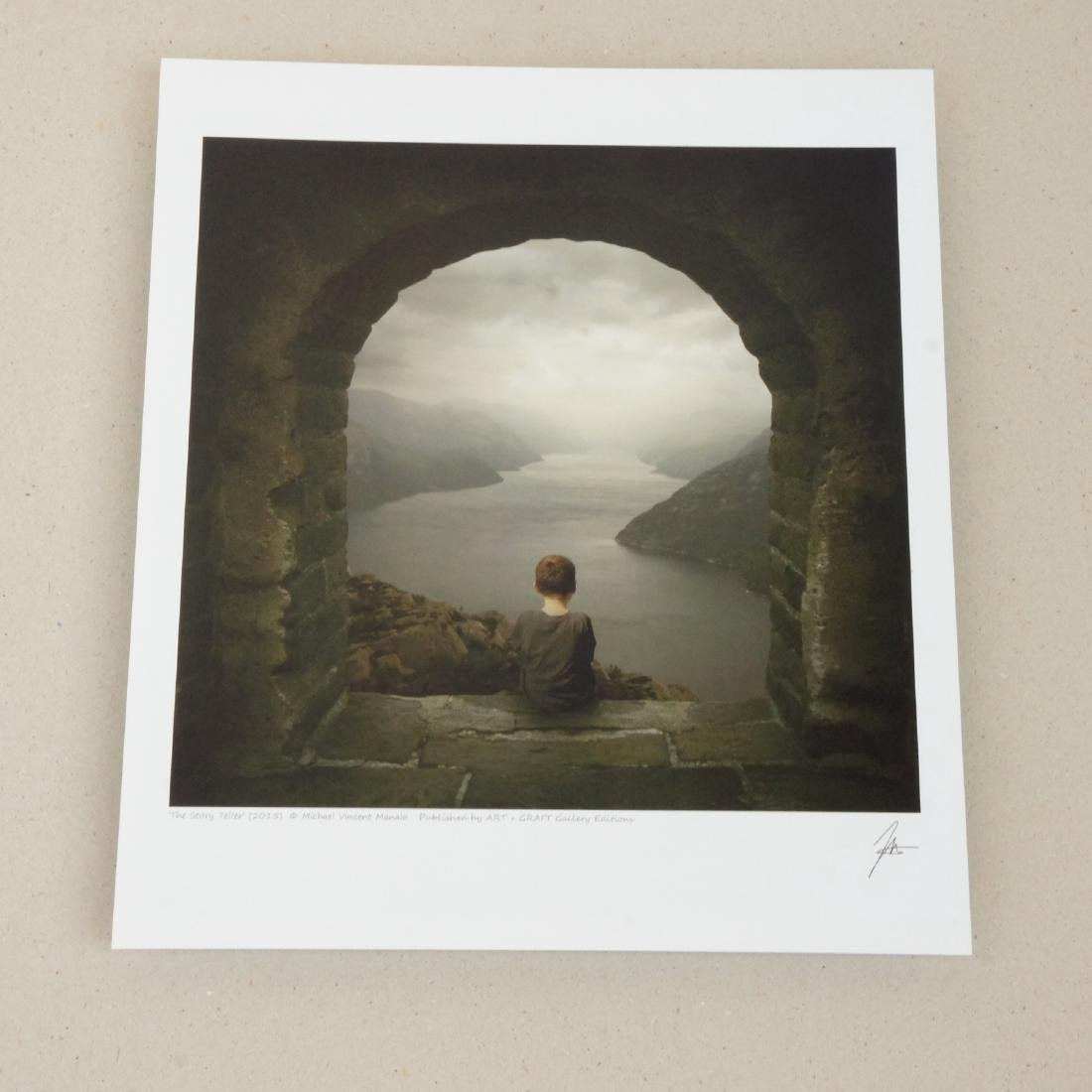 Michael Vincent Manalo The Story Teller Print - 2