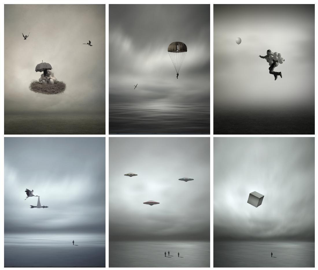 Philip Mckay - Airborne Folio - Six Prints