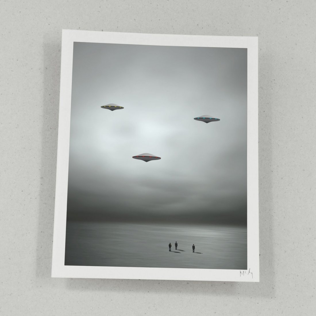 Philip Mckay - Airborne Folio - Six Prints - 6
