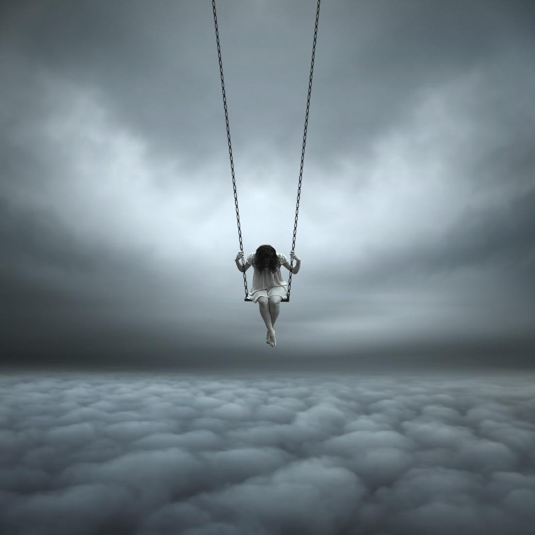 Philip Mckay Above the Clouds Print