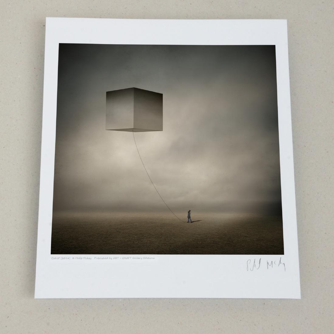 Philip Mckay Cubist Print - 2