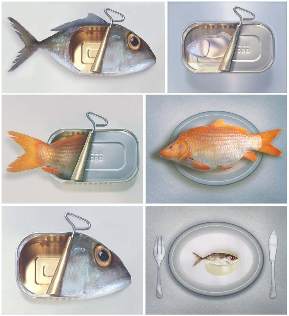 Art Grafts - Surreal Fishions Folio - Six Prints