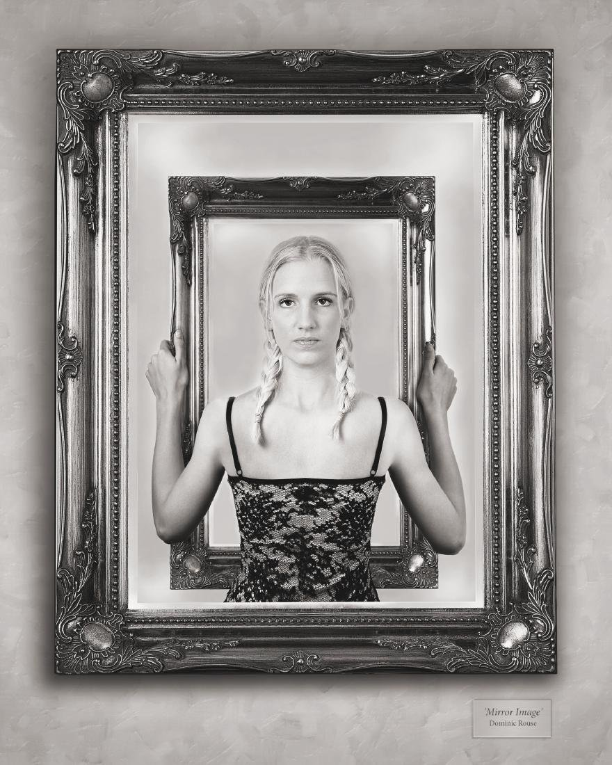 Dominic Rouse Mirror Image Print