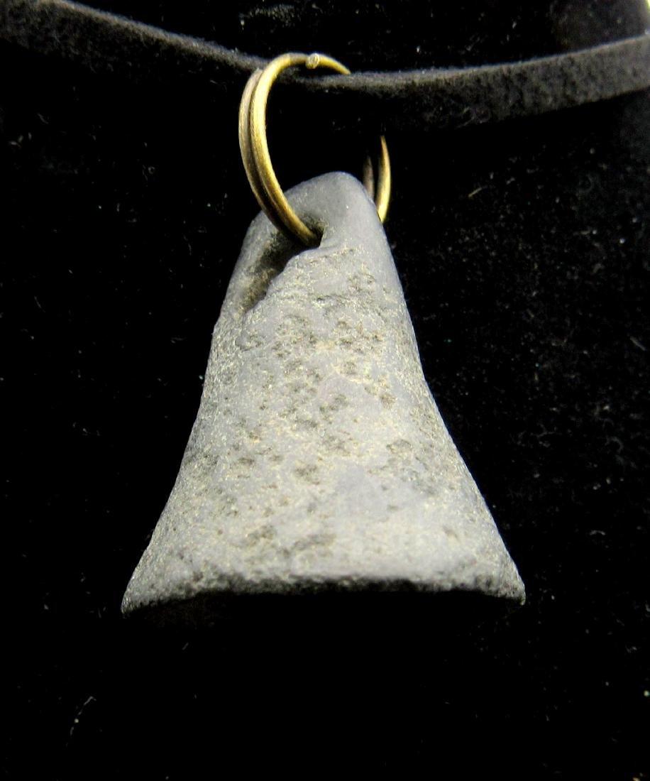 Ancient Bronze Age Bell Pendant