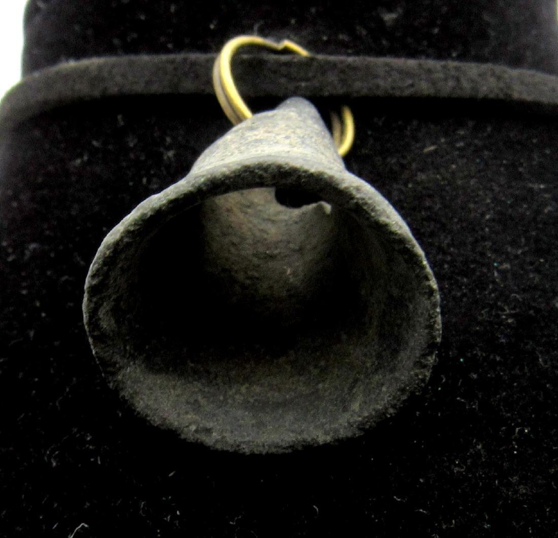 Ancient Bronze Age Bell Pendant - 2