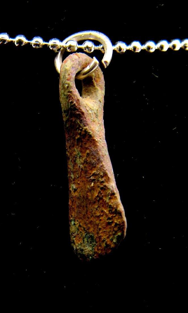 Medieval Viking Bronze Axe Pendant