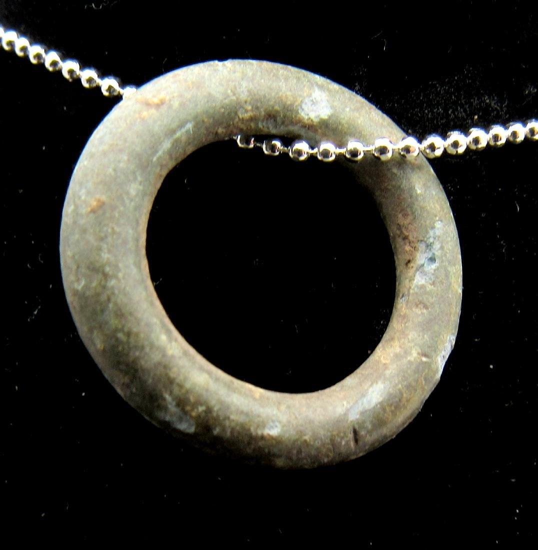 Ancient Bronze Age Sun Amulet - 2
