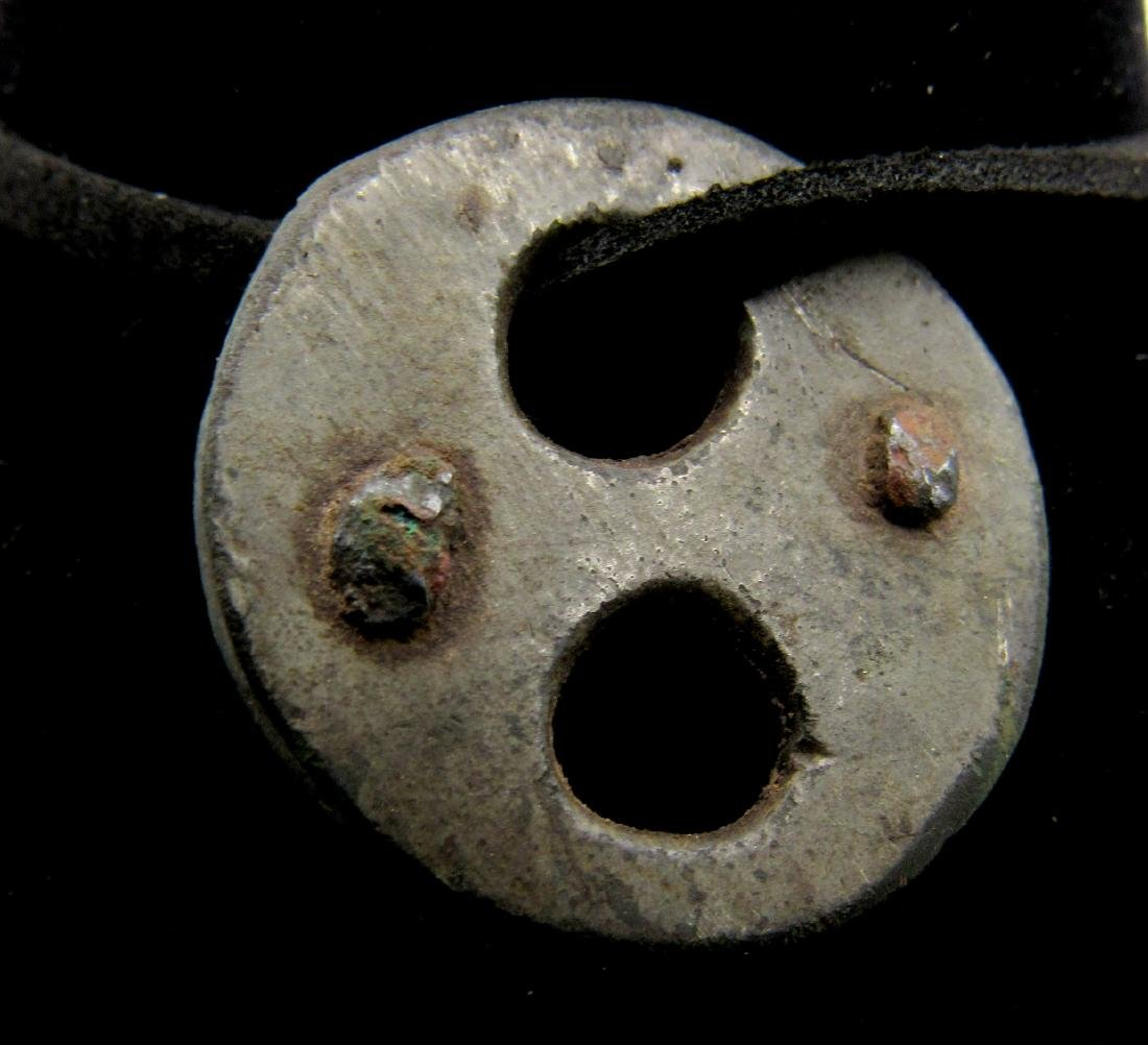 Ancinet Roman Pendant with Full Moon & Sun Symbol