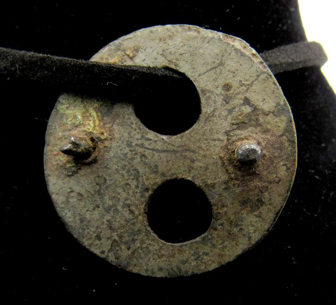 Ancinet Roman Pendant with Full Moon & Sun Symbol - 2