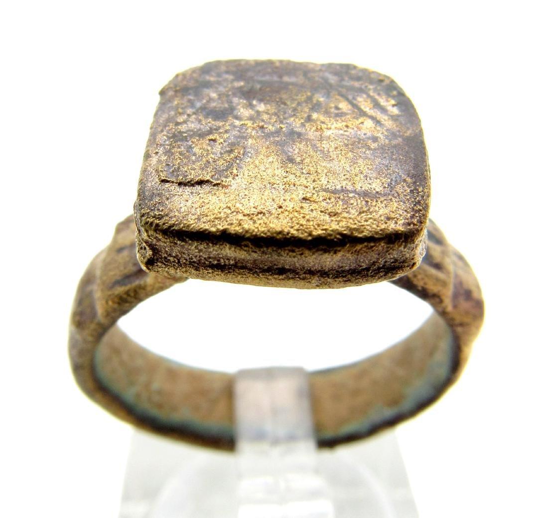 Medieval Crusaders Bronze Ring