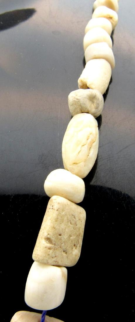 Ancient Roman Shell & Stone Necklace with 88 Beads - 3