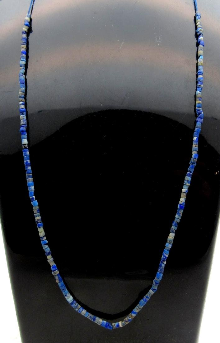 Ancient Roman Lapis Lazuli Necklace with 100+ Beads