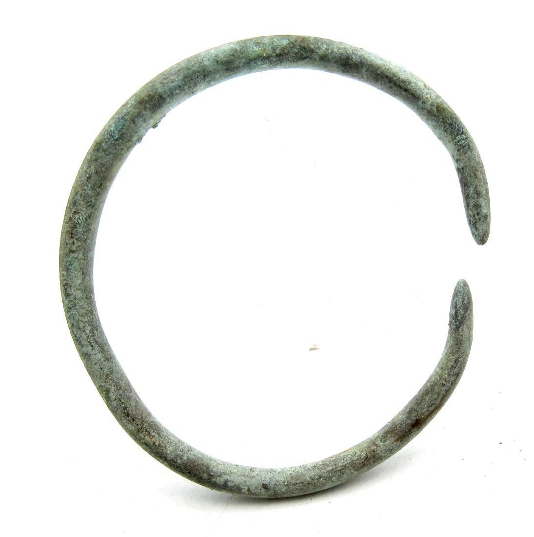 Medieval Viking Bronze Bracelet - 3