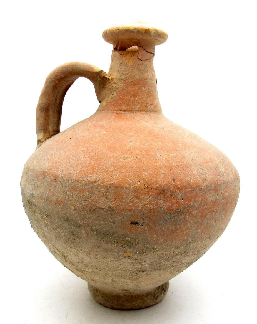Ancine Roman Terracotta Legionary Wine Flagon