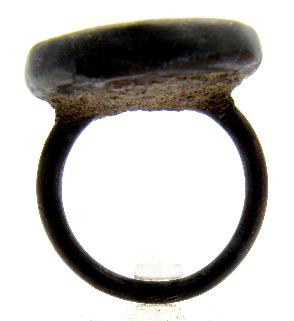 Middle Eastern Japser Intaglio Ring - 4