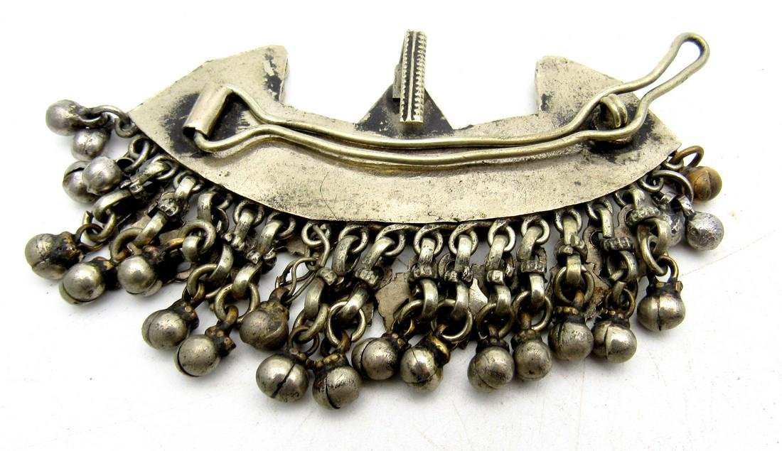 Bedouin Yemeni Filigree Brooch - 2