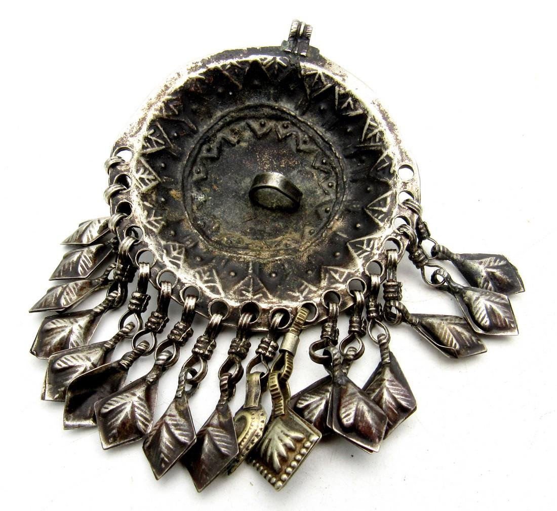 Yemeni Tribal Bedouin Wedding Pendant - 2