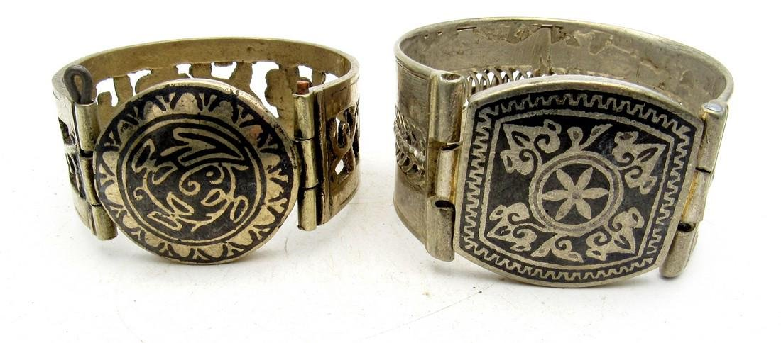 Pair of Bedouin Yemeni Bracelets