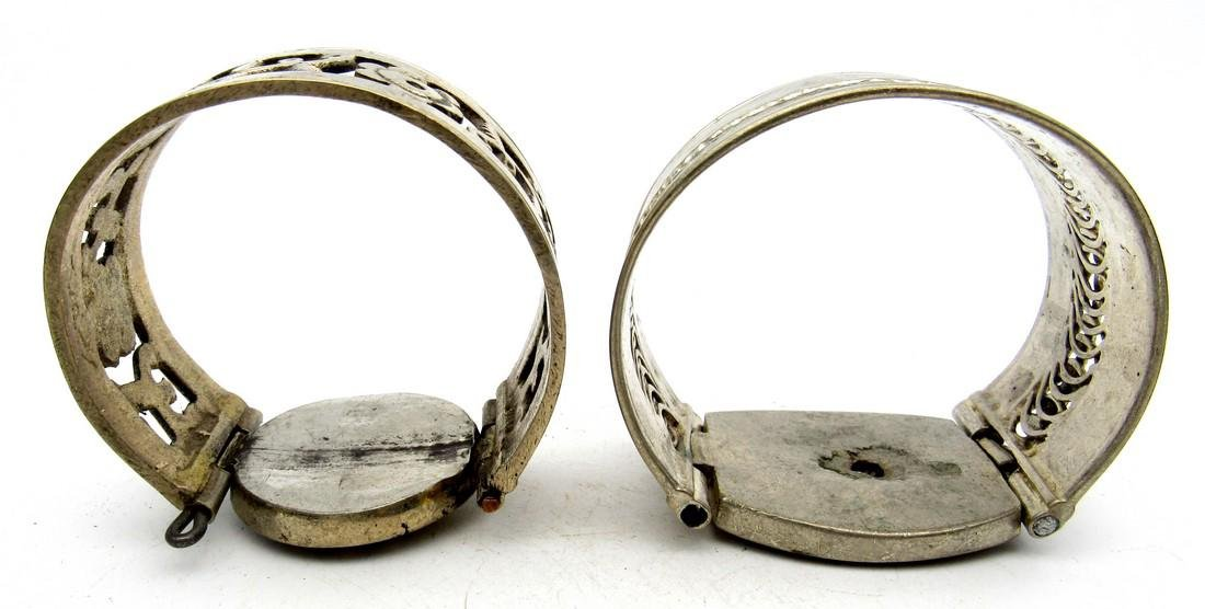 Pair of Bedouin Yemeni Bracelets - 2