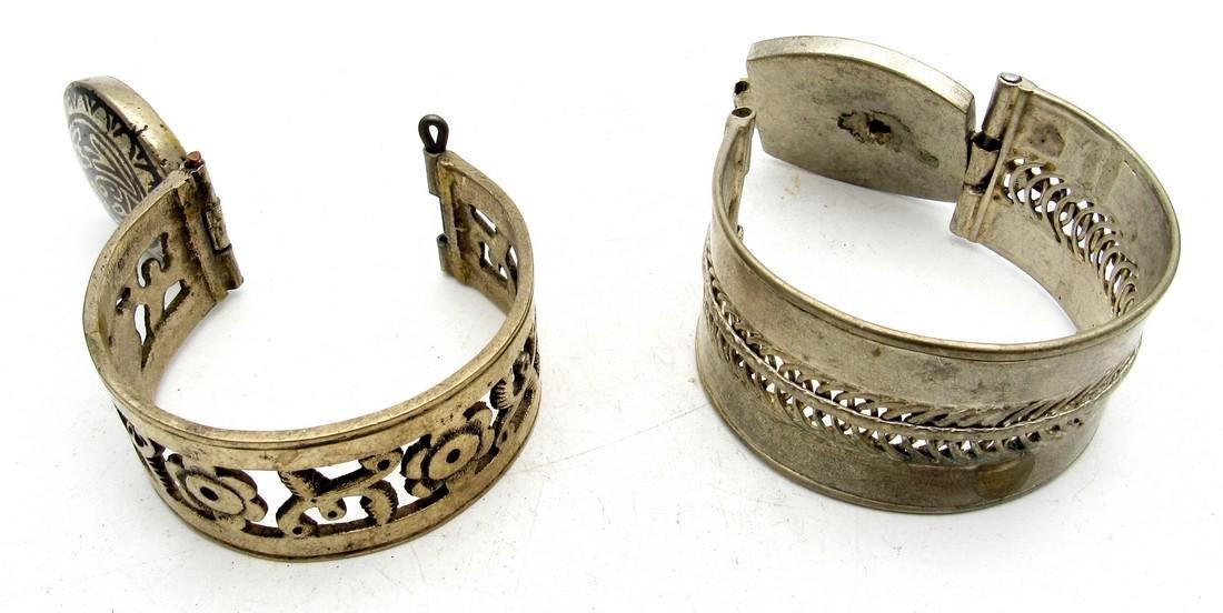 Pair of Bedouin Yemeni Bracelets - 3