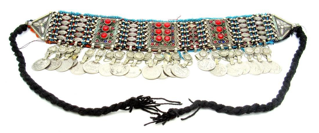 Bedouin Yemeni Decorated Wedding Necklace
