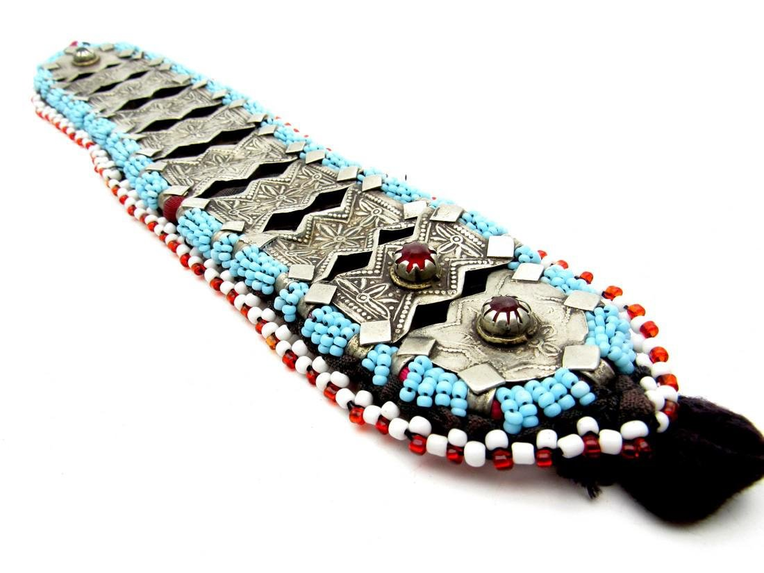Bedouin Yemeni Decorated Necklace / Belt - 3