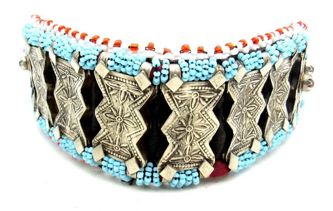 Bedouin Yemeni Decorated Necklace / Belt - 4