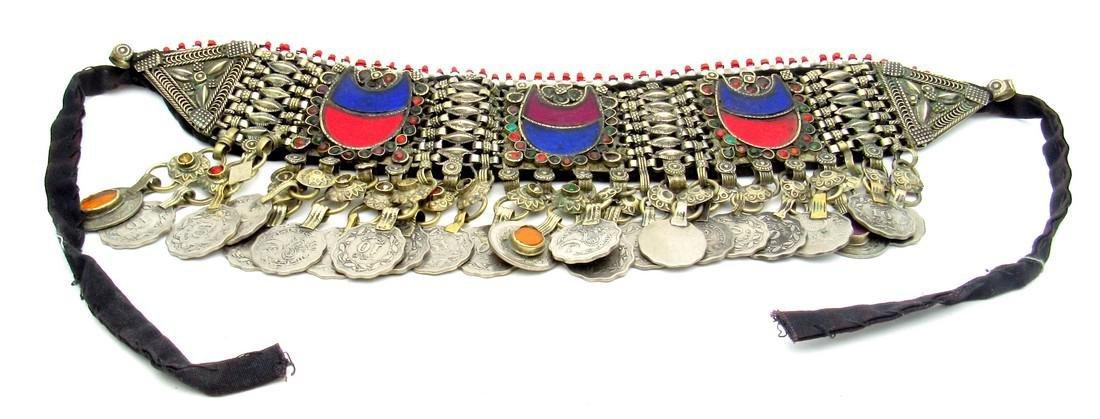 Bedouin Yemeni Decorated Wedding Necklace