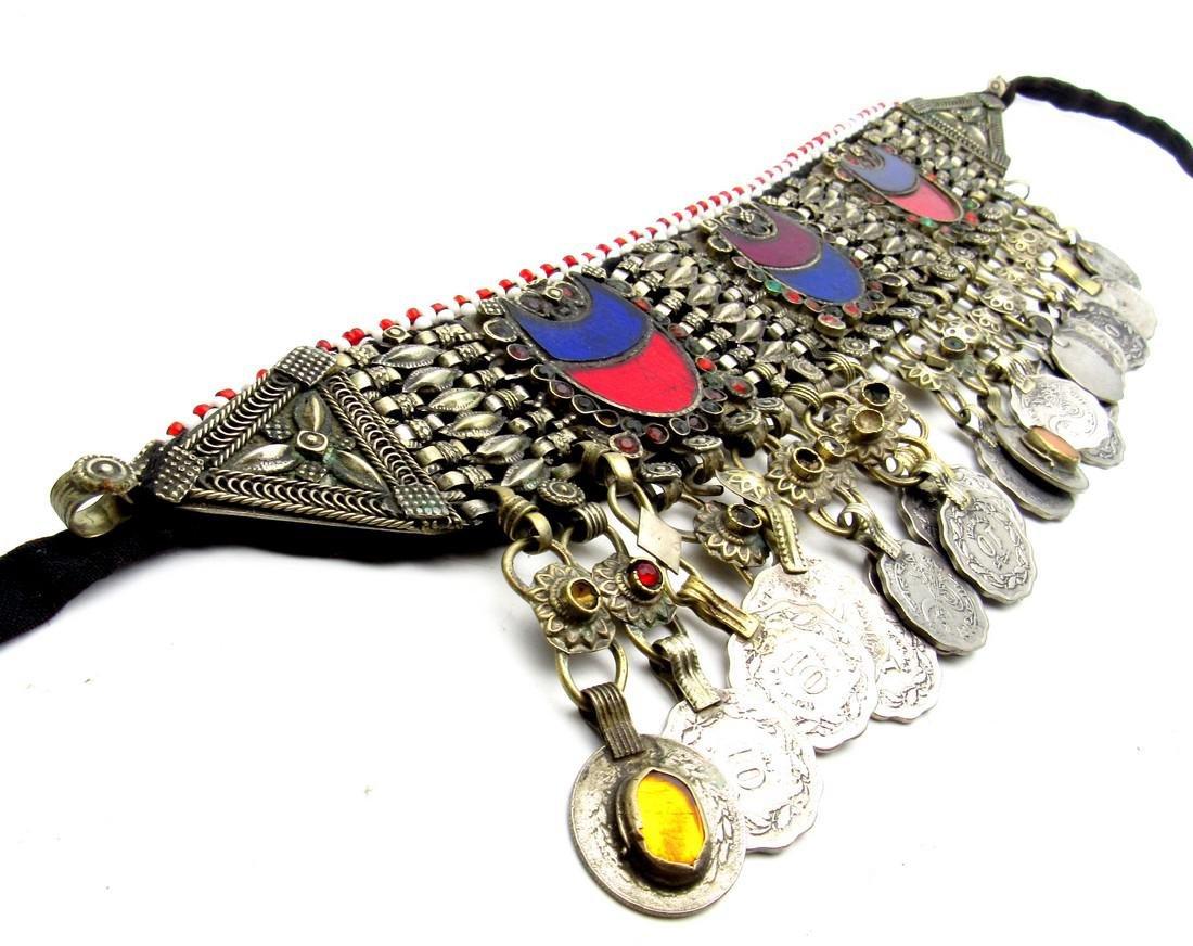 Bedouin Yemeni Decorated Wedding Necklace - 2