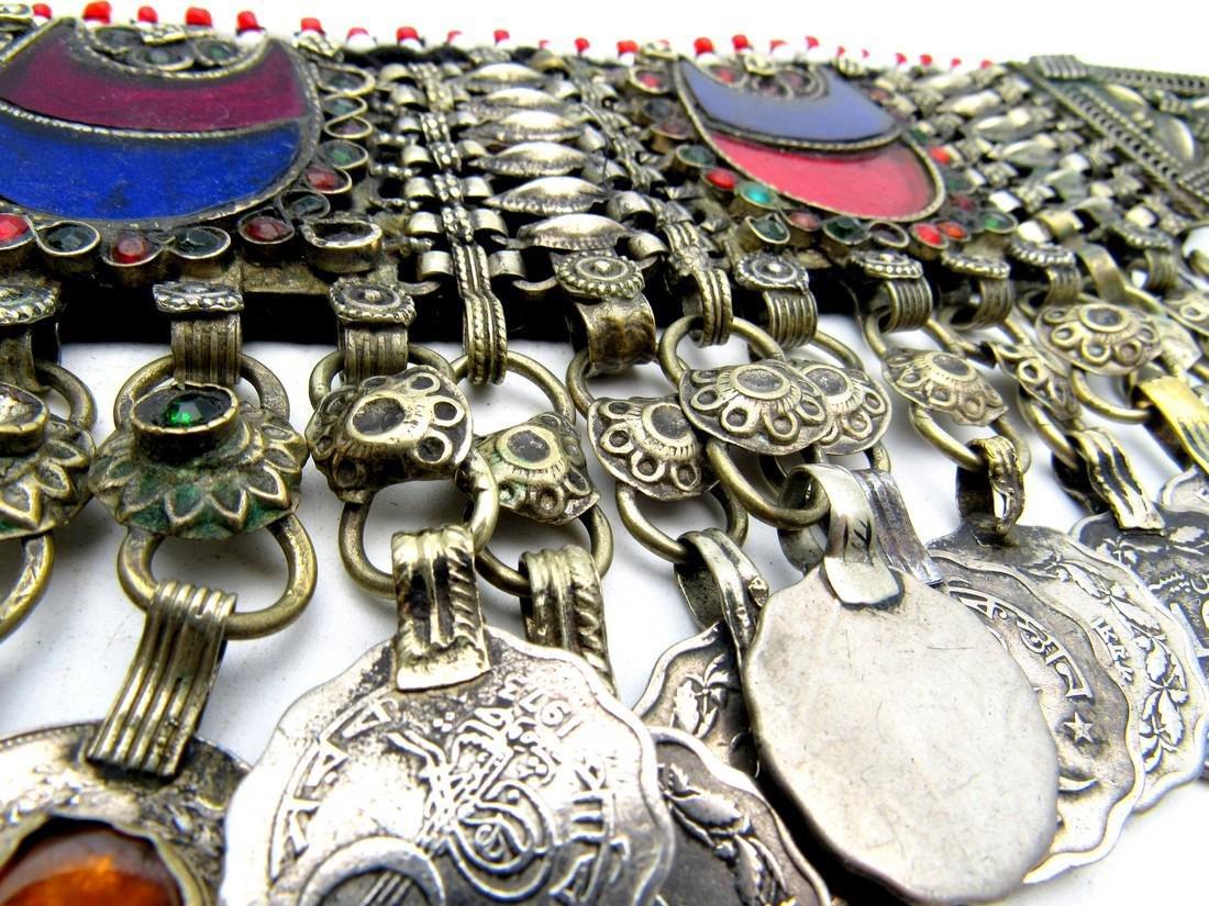 Bedouin Yemeni Decorated Wedding Necklace - 4