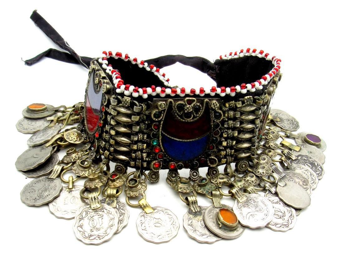Bedouin Yemeni Decorated Wedding Necklace - 5