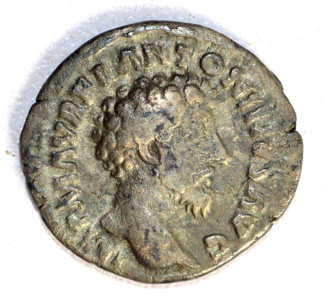 Marcus Aurelius Denarius rv. Concordia