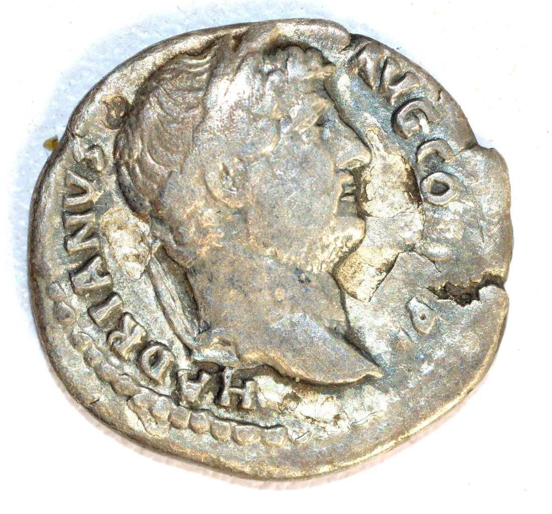 Hadrian Denarius rv. Salus