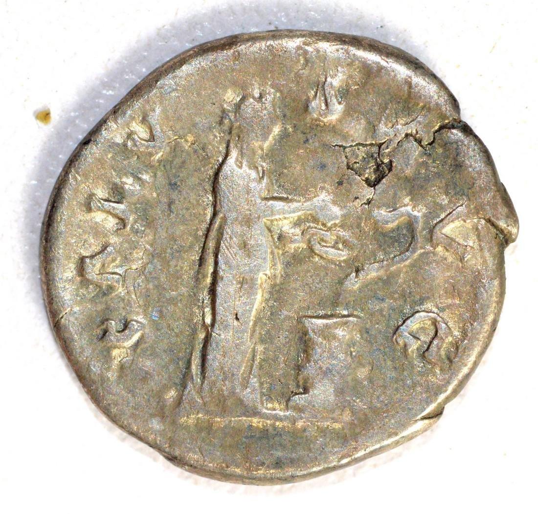 Hadrian Denarius rv. Salus - 2