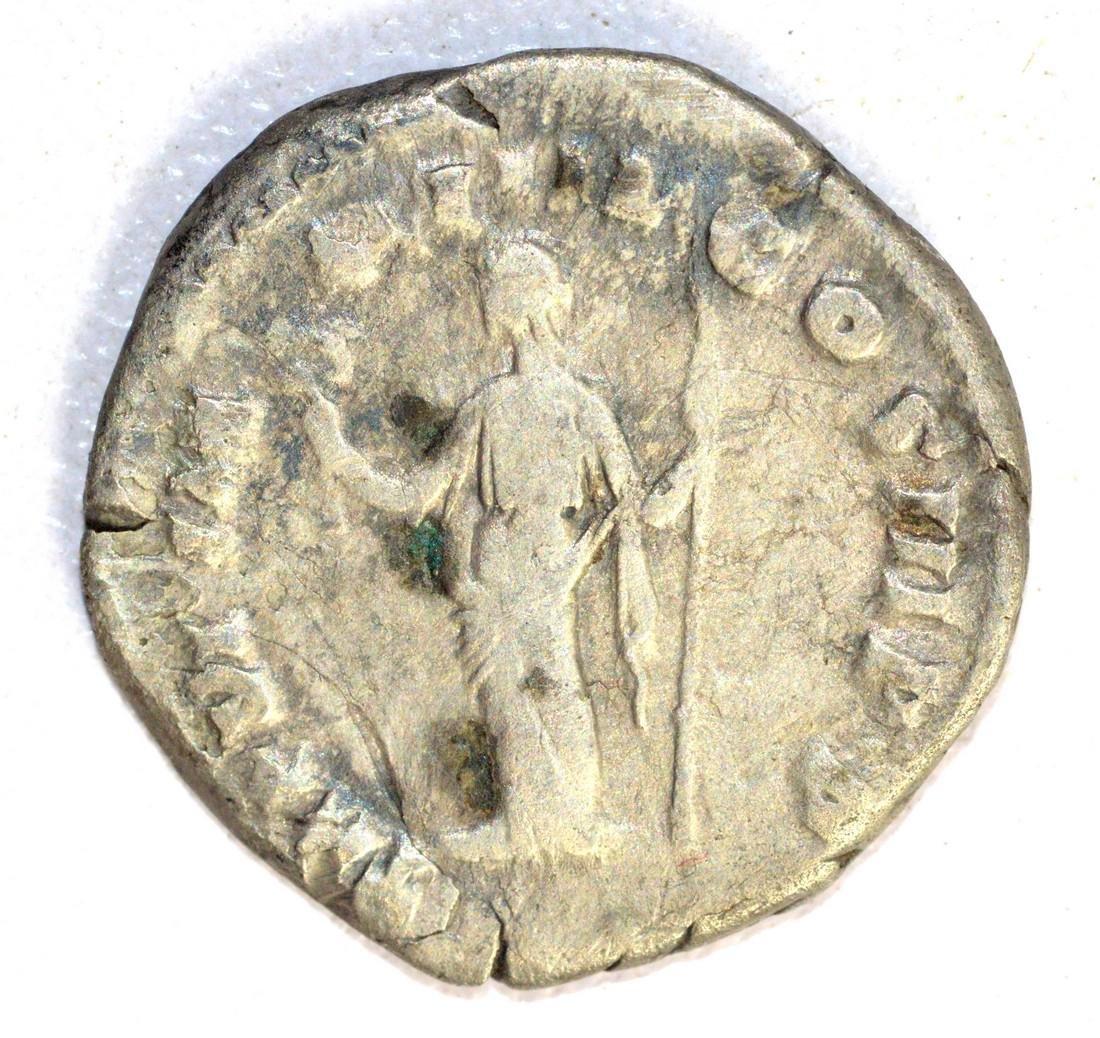 Commodus Silver Denarius rv. Lberalitas - 2