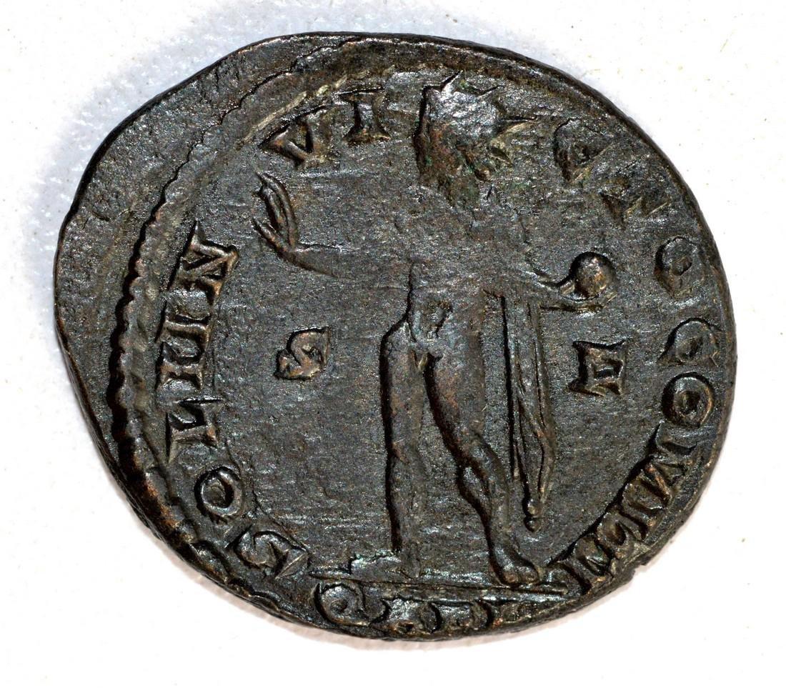 Constantinius I Ae Follis rv. Salus - 2