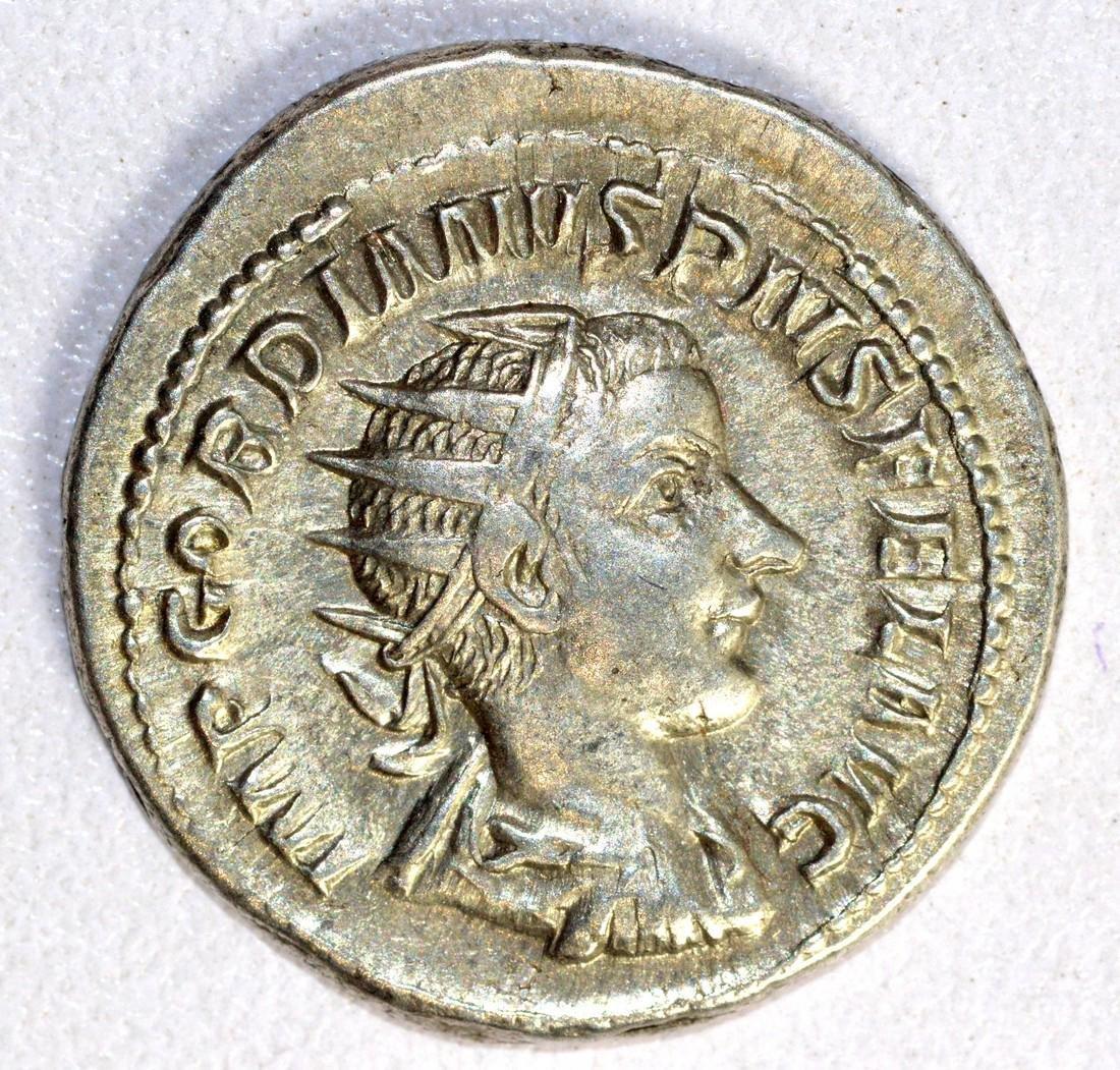 Gordian III Ar. Antoninianus rv. The Emperor