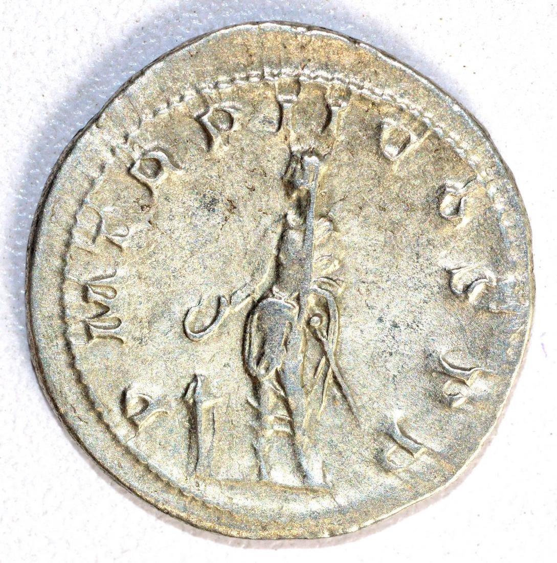 Gordian III Ar. Antoninianus rv. The Emperor - 2