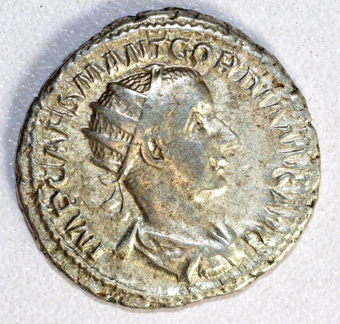 Gordian III Ar. Antoninianus rv. Fides Militum